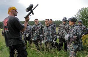 Тренинг ДНЕПРОВСКИЙ РУБЕЖ (с. Ясногородка, 2013)