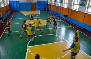 Active holidays in the company GREEN TRADE. Basketball (Kiev)