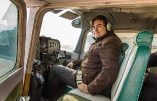 Активный отдых в компании. Полет на самолете (2017)