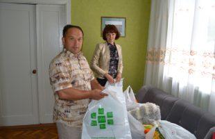 Благотворительный десант в детском доме (с. Дениши)