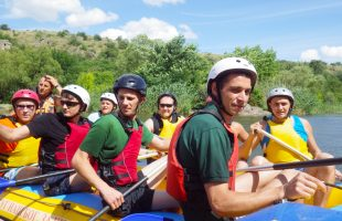 Corporate Team Rafting (Southern Bug, 2014)