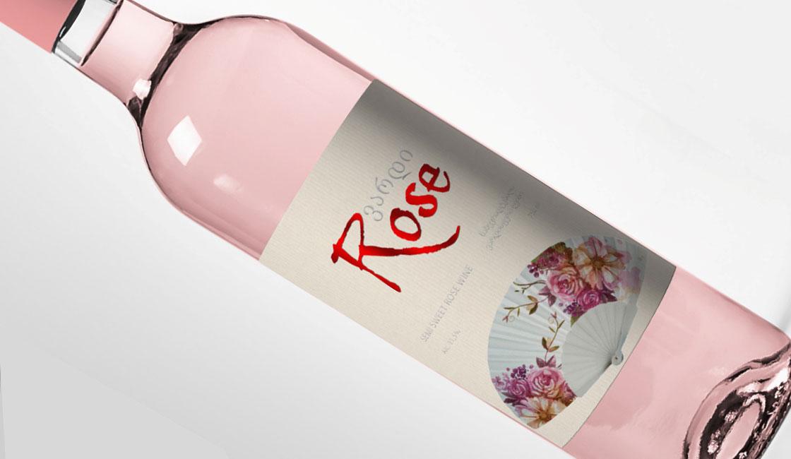 тиснение фольгой этикетки для вина