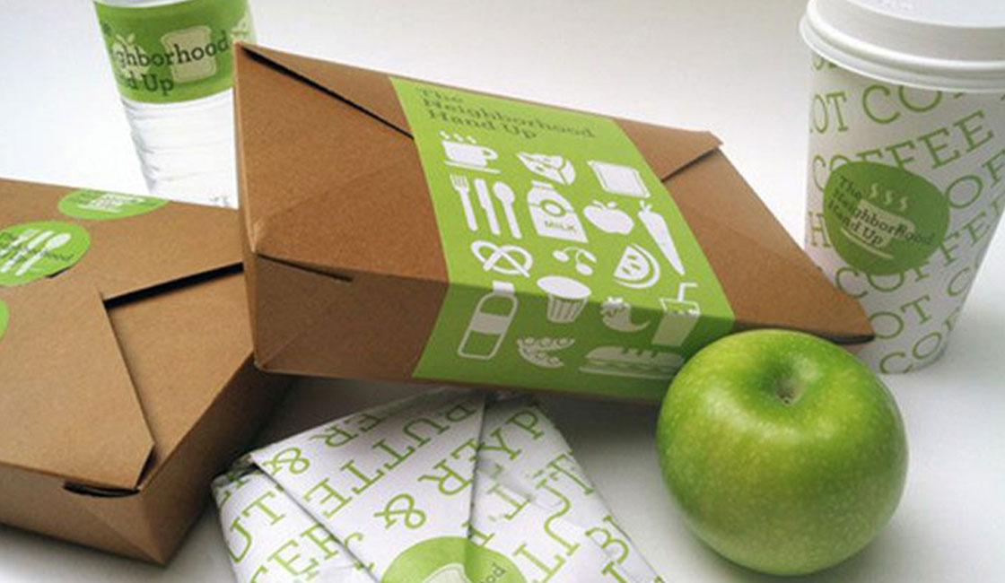 экологичная упаковка и этикетка